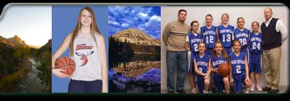 Zions National Park, hornets basketball, Mirror Lake, Blue Devils
